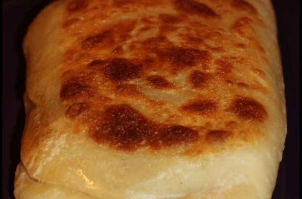 Naans steack & cheese