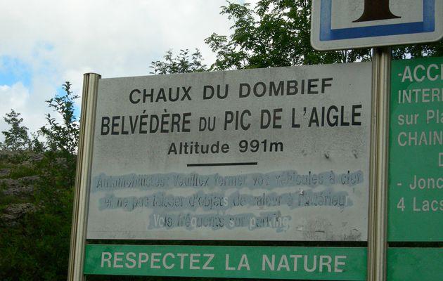 Randonnée du Pic de l'Aigle (région des 7 lacs - Jura)