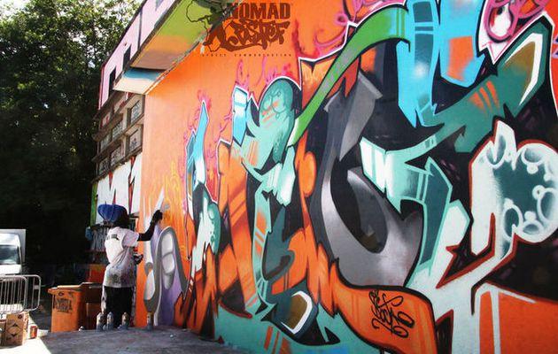 Quand le graffiti ajoute de la couleur dans les...