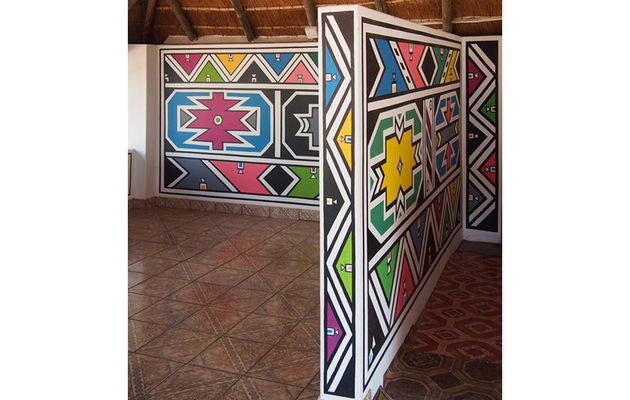 Important Ndebele artist Esther Mahlangu to paint...