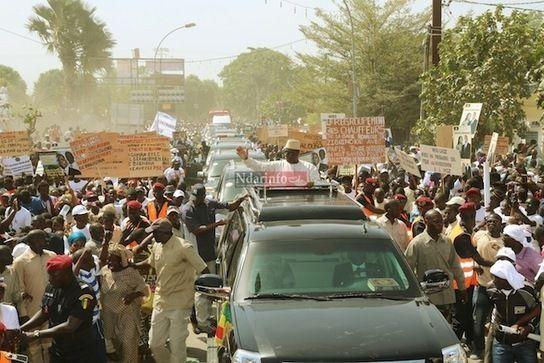 Les images exclusives de la visite de Makcy SALL en Casamance