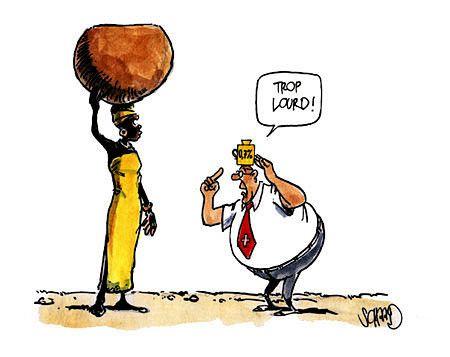 Recul inexorable de l'aide au développement en France