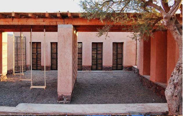 """"""" Inauguration d'une école maternelle bioclimatique  à Aknaibich, au Maroc"""