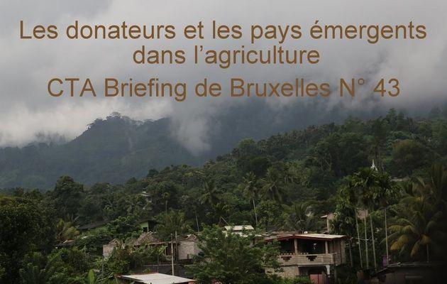 Les donateurs et les pays émergents dans...