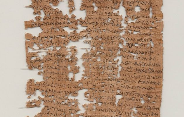 1,800 year old letter from Egyptian soldier...