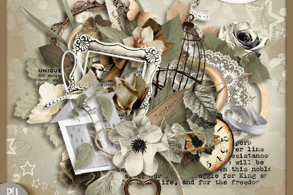 """ Perfect Love "" Tifscrap"