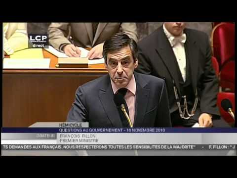 FRANCOIS FILLON : UN GRAND MOMENT A L'ASSEMBLEE !