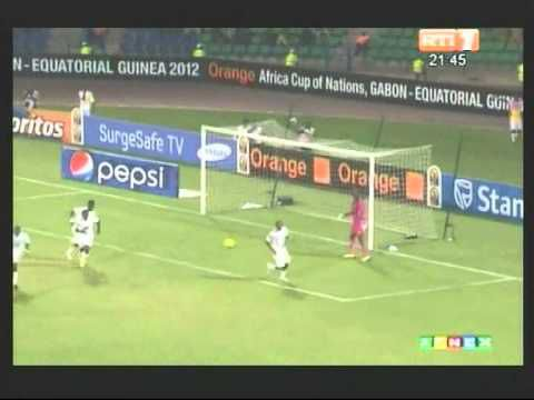 CAN 2012/Groupe D.Temps forts du Match Ghana - Mali (2-0)