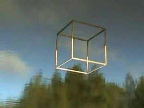 L'art naturel du cube à l'eau