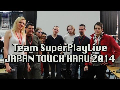 Team SuperPlayLive @ Japan Touch Haru 2014 : VIDEO !