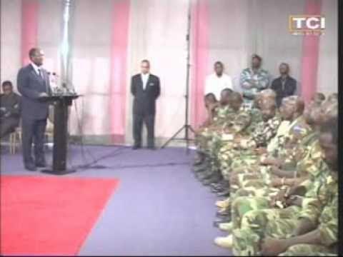 Le Président de la République SEM Alassane Ouattara a reçu les chefs des opérations des FRCI