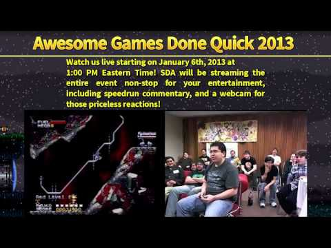 Awesome Games Done Quick : le marathon de speedruns
