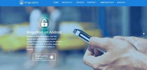 Using software Kingo Root