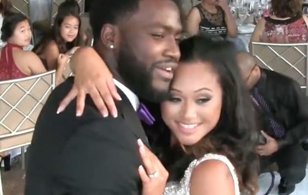 SUES NFL PLAYER OVER WEDDING RECEPTION