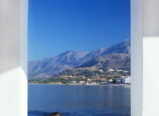 Dome view of Loutro