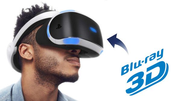 Can I Play 3D Blu-ray on PSVR?