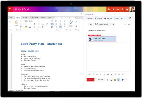 Os novos recursos do Outlook no Windows 10