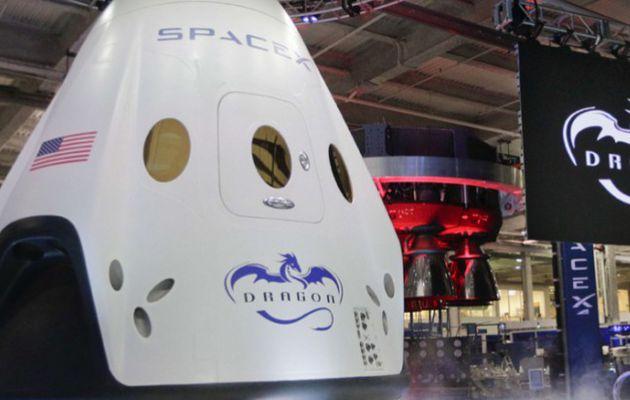 Le Dragon V2, le nouveau vaisseau américain pour aller dans l'espace