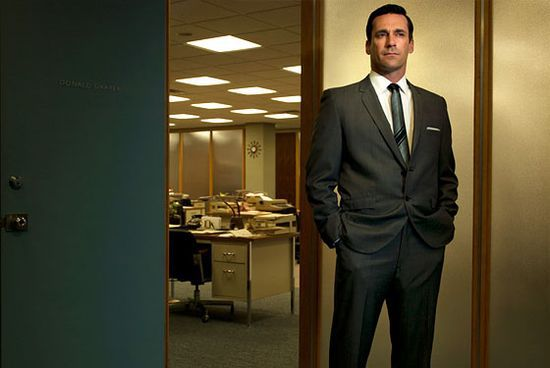 Mad Men Suit Don Dra