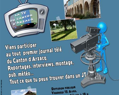 stage: journalisme TV