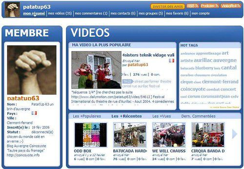 Dailymotion.com le flickr video ?