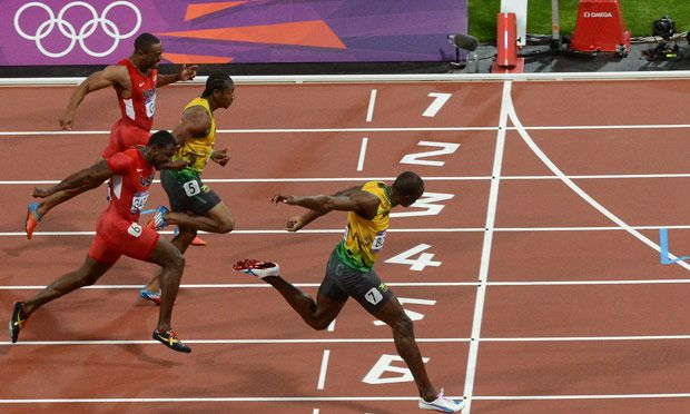 Olympics 100m final: Usain Bolt wins gold in 9.63sec at London 2012 – as it happened