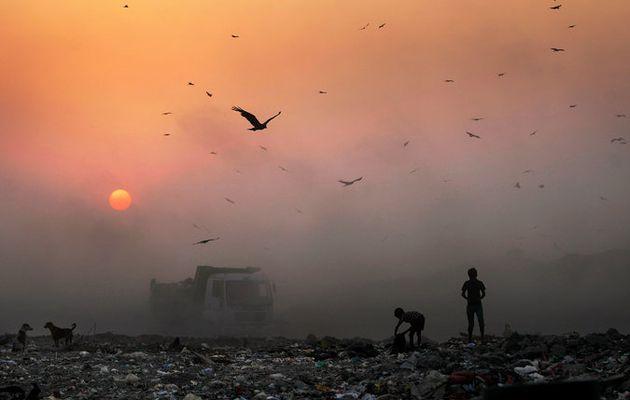 DELHI : POLLUTION MAXIMUM...