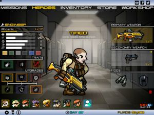 Play action shooting game Strike Force Heroes 2 free