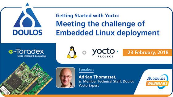 Webinar: Getting Started with Yocto - Meeting the challenge