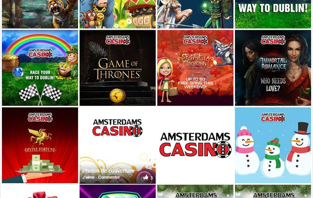 WELCOME TO AMSTERDAMSCASINO