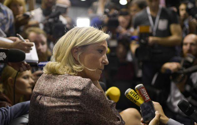 Avant de voter... Dix preuves que Marine Le Pen n'est pas une grande amie de la liberté de la presse