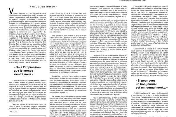 "Semaine 30 – 1983 ± 7 – ""forum libé"" mulhouse"