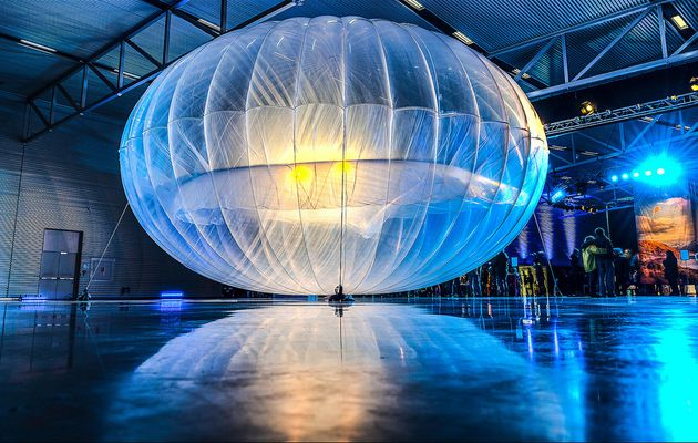 Google Balloons Send Internet Soaring Through the...