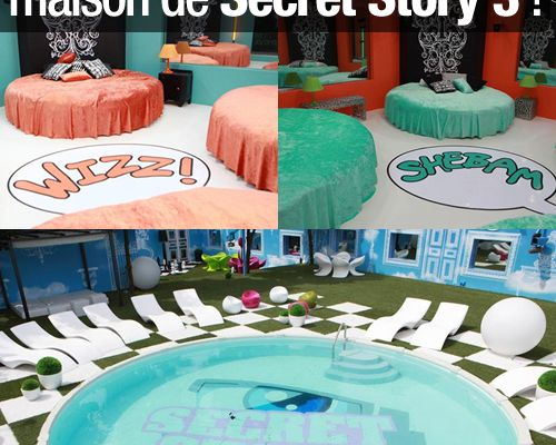 Les photos officielles de la maison de Secret Story 3 ! (Mis à jour)