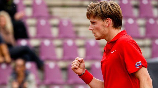 Tennis         : Goffin remporte la finale belge à Orléans