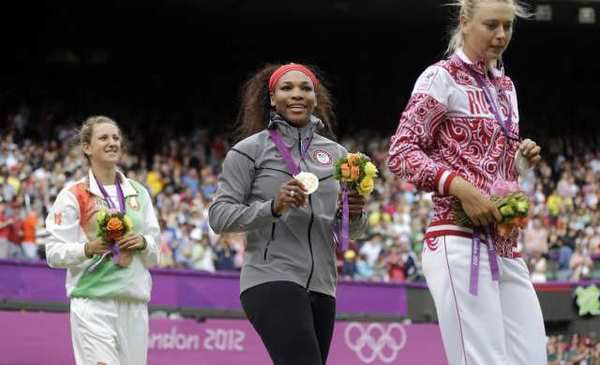 London Olympics: Serena Williams easily wins gold medal