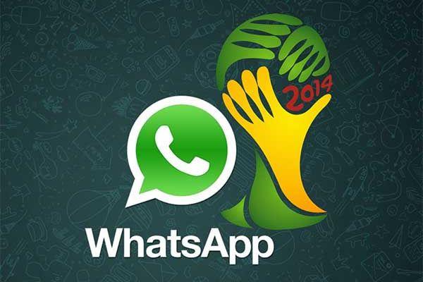 Cómo seguir el Mundial de fútbol de Brasil 2014 por WhatsApp