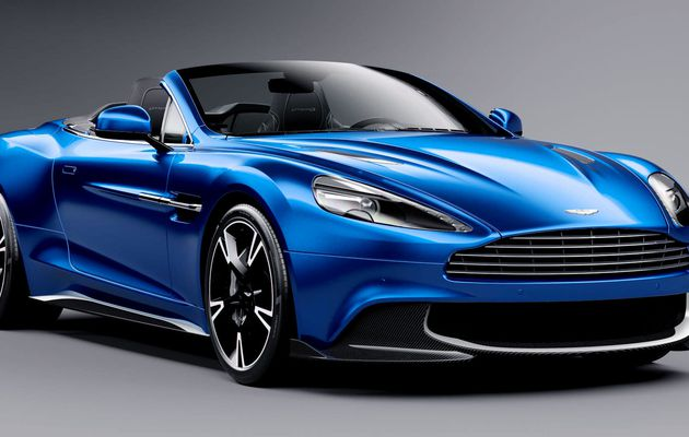#AstonMartin's New #Vanquish Volante S Convertible Is V Pretty, Super Powerful http://ow.ly/rPVn308tuAJ...