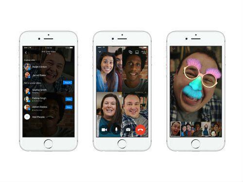 Facebook Messenger agora permite que você converse por vídeo com até 50 pessoas