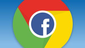 Manter a entrada no facebook com o site Google Chrome