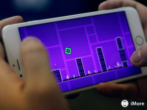 Fascinating game for phones Geometry Dash