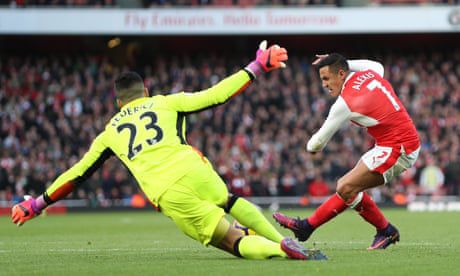 Dangerous Alexis Sánchez the driving force of Arsenal's attack