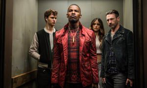On the set of Edgar Wright's Baby Driver: 'Everything is fun with Jamie Foxx around'
