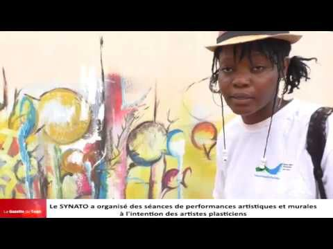 Togo: Le Ministre LORENZO inaugure la maison des artistes