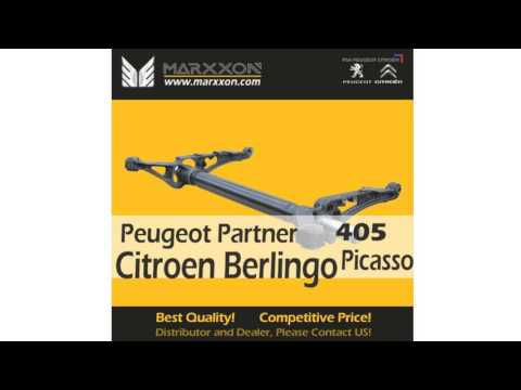 MARXXON MACHINERY is the Leading manufacturer of Brand New Peugeot & Citroen Rear Axle from China, not like other poor quality manufacturer from China, All Rear Axles are manufactured to the original spec factory standard to meet with NCT and DOE requirements. We supply European market many years with New Produced Peugeot & Citroen complete rear axle, Axle shaft, Bearing kit, Trailing arm, Torsion bar, Axle pin…with competitive price. Available model: Peugeot: 106, 205, 206, 206cc, 206SW, 306, 309, 405, Partner Citroen: AX, Saxo, ZX, Xsara, Xsara Picasso, Berlingo. Welcome Distributor and Dealers contact us for Special Price. info@marxxon.com https://www.youtube.com/watch?v=BzuhQrRIROQ&feature=youtu.be