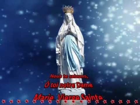 Couronnée d'étoiles, nous te saluons... - Chant à la Vierge Marie