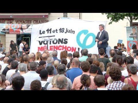 Meeting de J-L Mélenchon à Marseille le 15 juin 2017