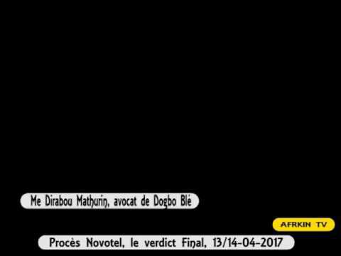 Procès Novotel, le verdict final, 13/14- avril 2017