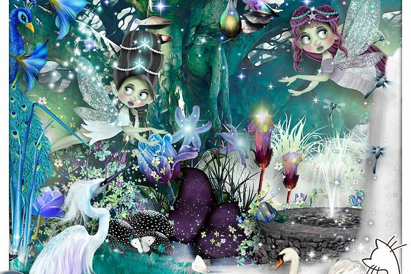 """"""" The fairies of the forest """""""