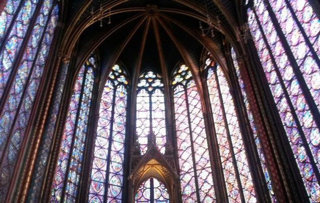 Natascia just checked in @ Sainte-Chapelle (Paris, France)
